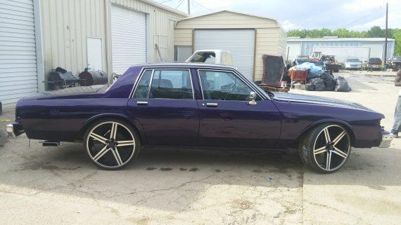 deep purple candy car