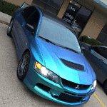 Eclipse Auto Salon uses Chameleon Pearls 4779BG on this custom paint job.