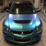Blue-Green Chameleon Pearls® Front View 4779BG