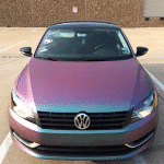 4739RG VW Painted By Eclipse Auto Salon with our Red Blue Green Chameleon Paint Pearls.