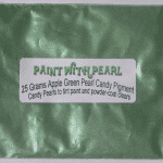 25 gram bag of Apple Green Candy Pearl