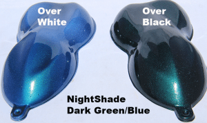 Green-Blue Candy Paint Pearl