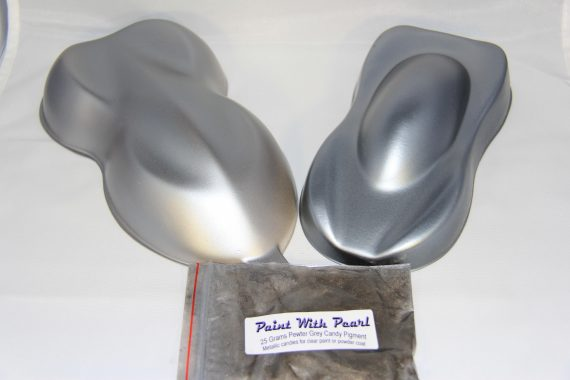 Pewter-Titanium Candy Pearls ®.
