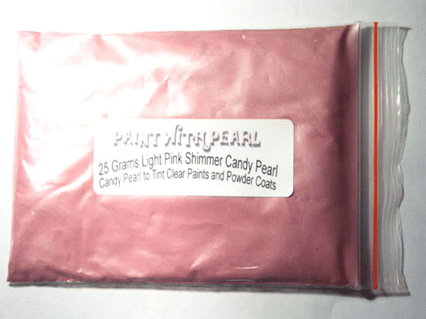 Light Pink Shimmer Candy