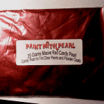 25 Gram Bag Mauve Rose Red Candy Pearls ®.
