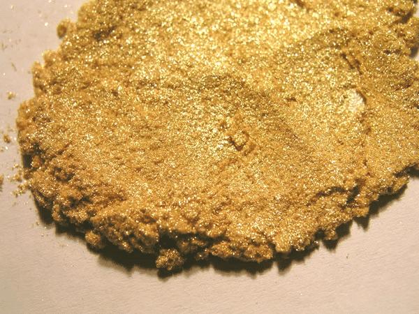 Shimmer Gold Pile