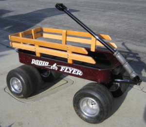 apple-red-wagon-radio-flyer