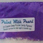 25 gram Bag of Deep Purple Candy Pearls