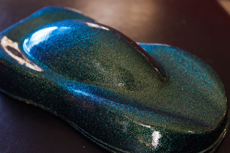 Gold Green Blue Colorshift Paint Metal Flake 004 Quot