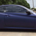 Midnight Blue Candy Paint as done by Ecliipse VIP Auto Spa