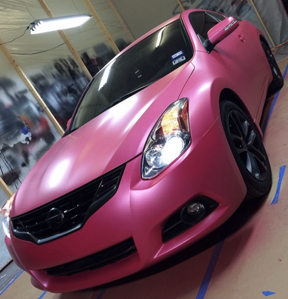 Deep Pink Candy Pearl by Eclipse Auto Spa.