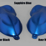 Sapphire Blue Candy Pearls Speed Shapes.
