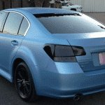 Sky Blue Candy Pearl Matte Finish paint.