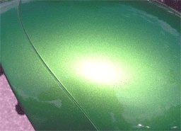 Apple Green Candy Pearls Headlight