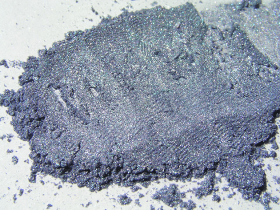 Cold Blue Steel Pile