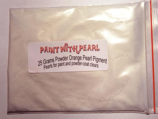 25 gram bag of Orange Ghost Pearl