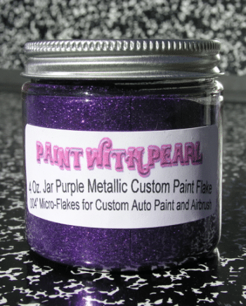 Purple Metal Flake   Paint With Pearl