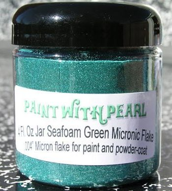 Seafoam Metal Flake, also known as Teal Flake.