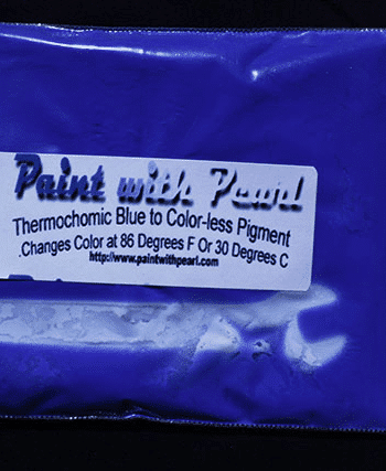25 Gram Bag of Blue Thermochromic Paint Pigment