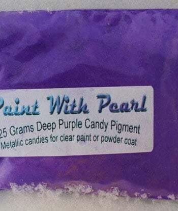 25 gram Bag of Deep Purple Candy Pearls