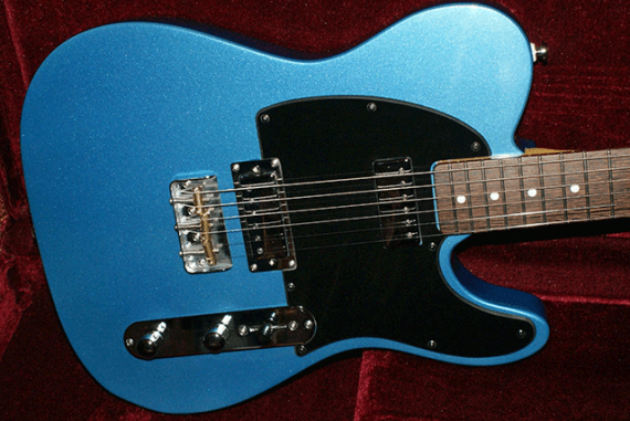 Electric Blue Guitar.
