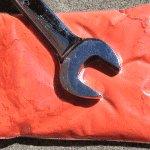 25 gram bag of orange-thermochromic-paint-pigment