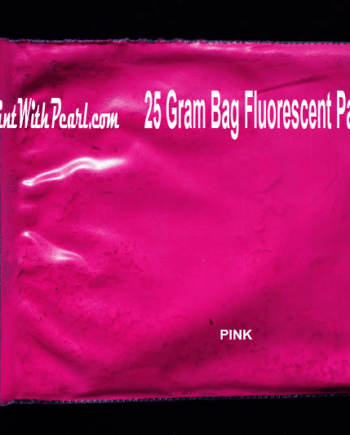 25 Gram Bag Pink Fluorescent Paint Pigment