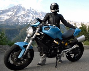 Sky Blue Ducati
