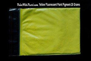 yellow-fluorescent-paint-pigment