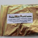 25 Gram Bag 4739CS Green Gold Bronze chameleon paint pearl.