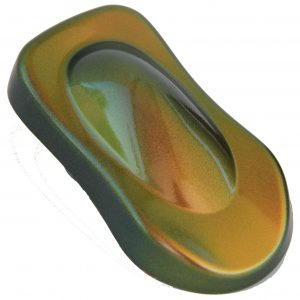 Green Orange Bronze Copper Chameleon Colorshift Paint Pearls