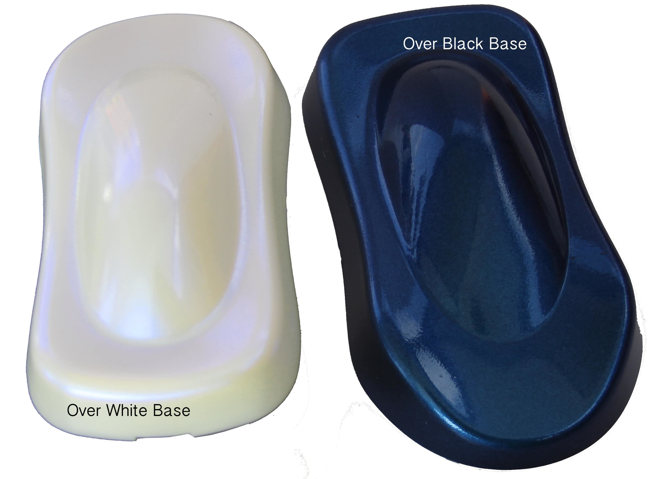 Blue Ghost Pearl For Paint Powder Coat Epoxy Fiberglass