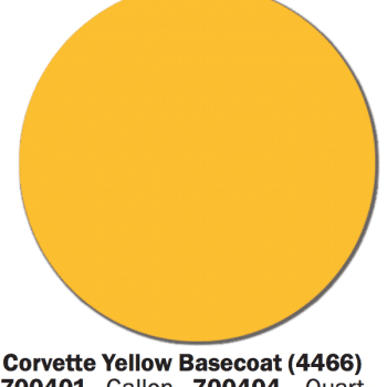 Corvette Yellow Swatch