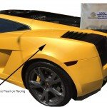 Gold Ghost Pearl on Yellow Lambo with Bag shown.