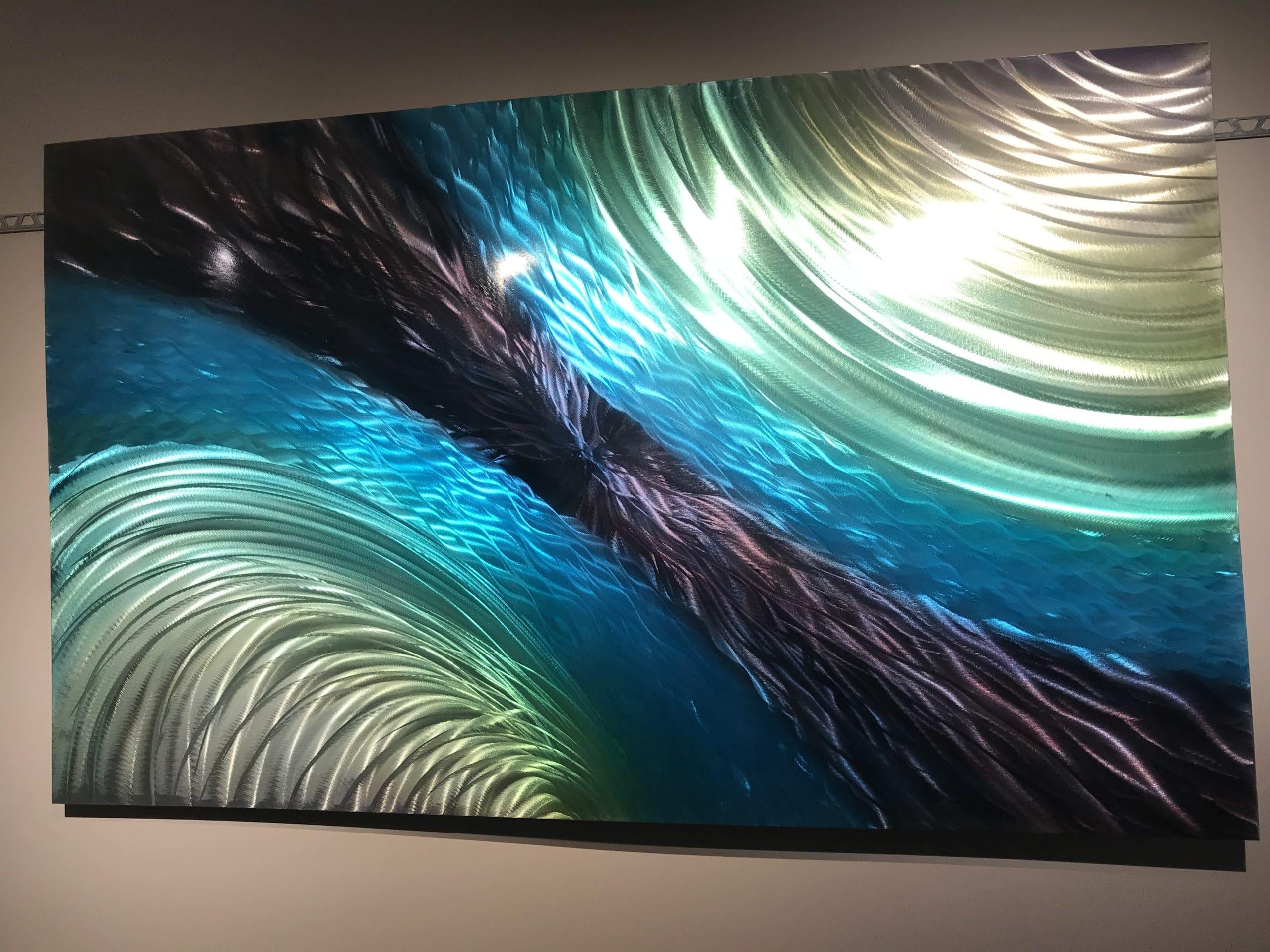 Beautiful painting by Vanderlean Art Studios using our pearls!