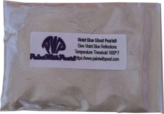 Violet Blue Ghost Pearl in 25 gram bag to treat 1 gallon of clear.