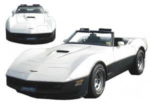 White-corvette-silver-ghost