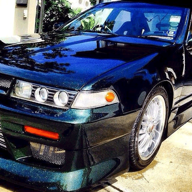 Nissan       Cefiro       A31    with Blue to Green Chameleon   Paint