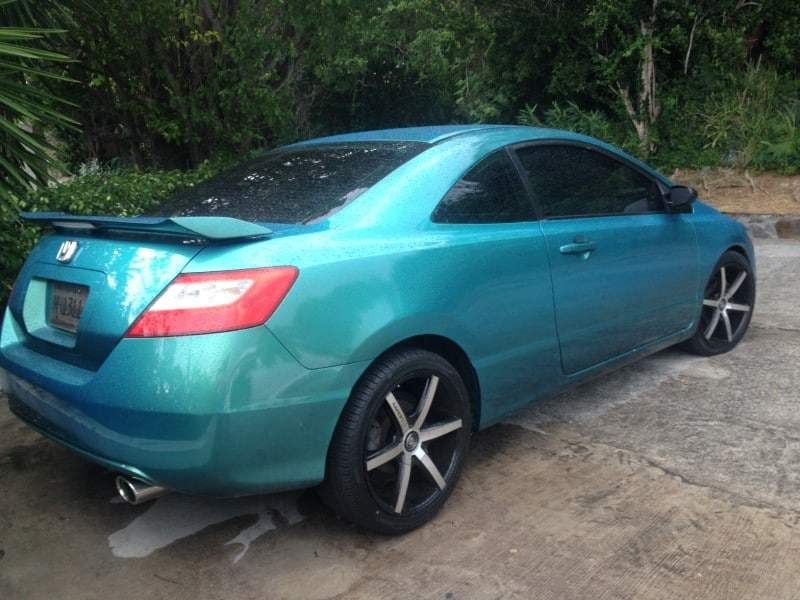 Browns Used Cars >> Blue Green flip (Carribean Gold) Honda Civic-Paint With Pearl