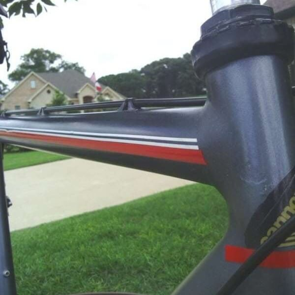 black gunmetal candy pearl on bike