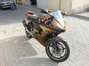 Gold-Orange-Red-4739OR-Chameleon-pearl-Motorcycle
