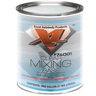 Clear mixing base perfect for Pearl Paint, Candy Paint Colors, Chameleon Paint, Metal Flakes, Candy Concentrates, Glow Pigments, Heat Reactive Thermochromic Pigment , Metallic Pigments.