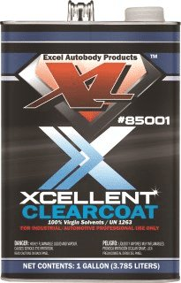 Excel Xcellent clear coat is highly recommended to protect your base coat.