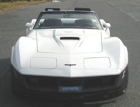 Silver Pearl On A Corvette
