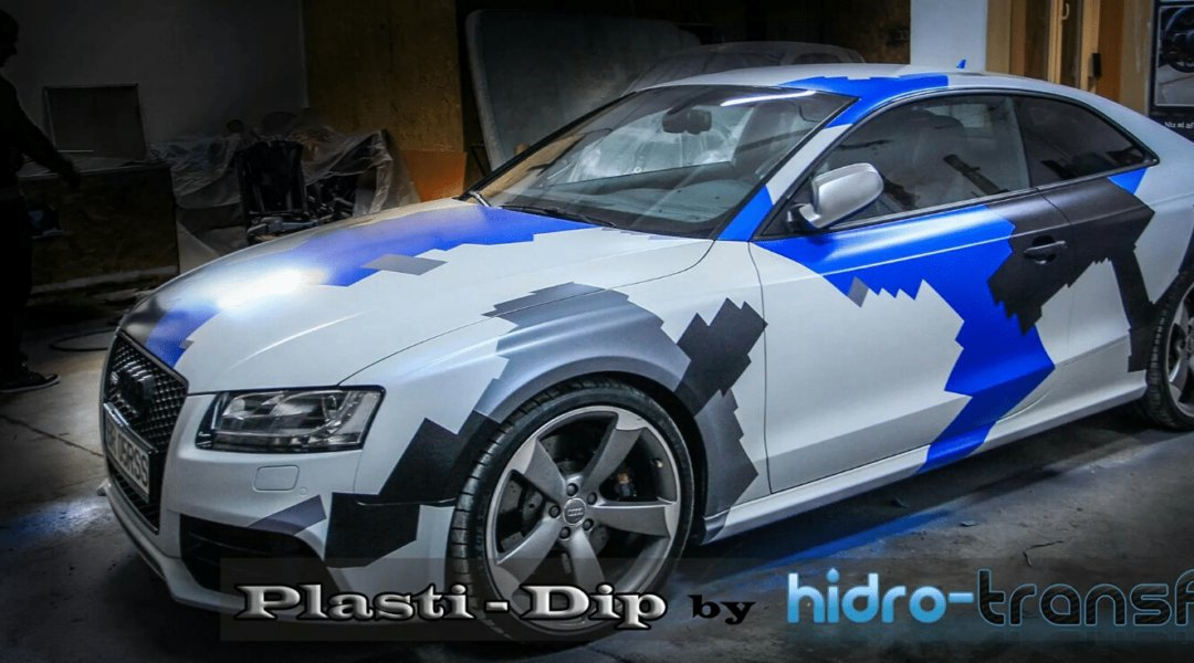 Audi Dipped in multi color with ghost pearl and candy pearls.