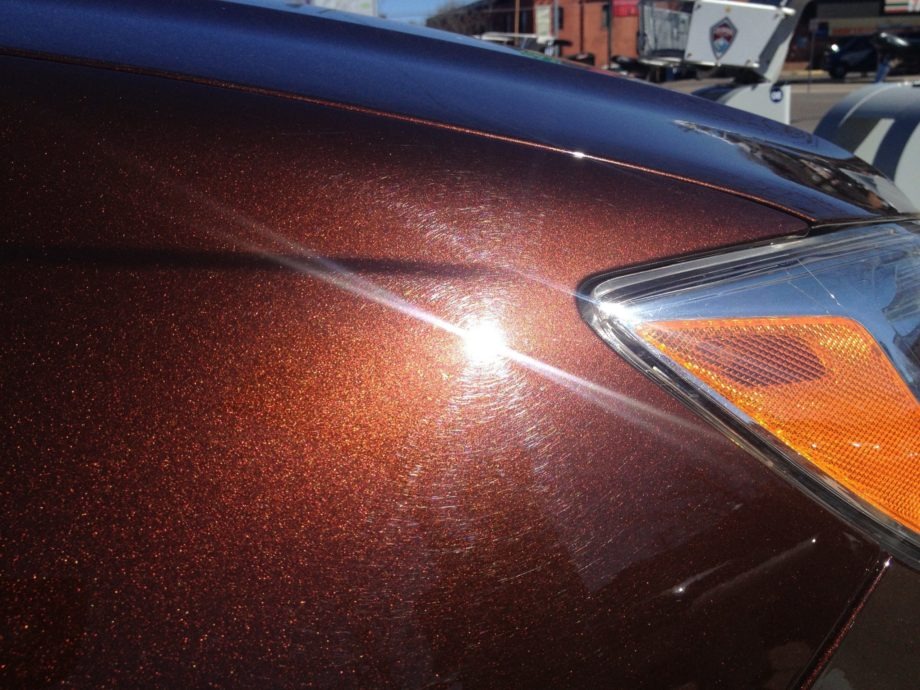 Cinnamon Brown Candy Paint Pearl has a touch of orange or red in it, as opposed to the standard nut browns.
