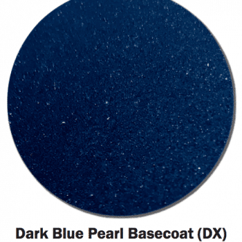 Dark Blue Pearl Base Coat swatch.