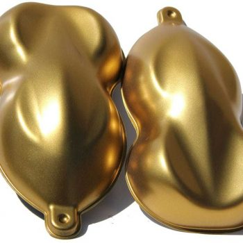 Brilliant Gold Aluminum Candy Pearls
