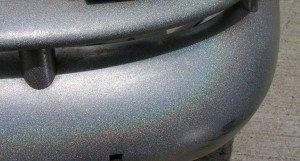 Silver holo bumper