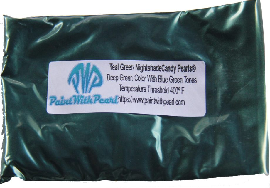 Teal Nightshade Dark Teal Bag